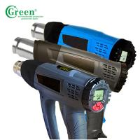 220V Hot Air Heat Gun AC Green 1916 2000W With Temperature Digital Display Manufactures