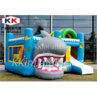 Baby Playing Water Jumping Castle Shark Tradeshow Display Theme Combo Manufactures