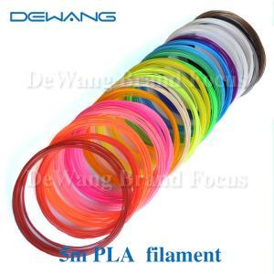 Markerbot pla plastic 3d printing filament materials , polylactic acid filament Manufactures