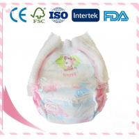 High Quality Breathable Cotton Baby Diaper With Magic Paste Manufactures