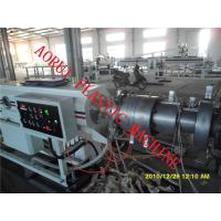 PP / PE Plastic Pipe Extrusion Line Single Screw 380V 3 Phase 50HZ Manufactures