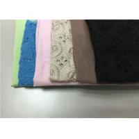 China Dyed Twill Cotton Polyester Fabric Cloth , Dyeing Cotton Fabric For Clothing on sale