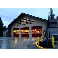 Single Story Fire Proof Prefab Steel Structure Building For Fire Station Manufactures