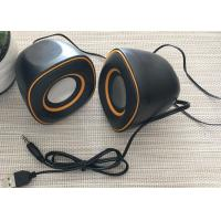 5W ABS Multimedia USB Powered Portable Speakers Support Hot Plug Play Manufactures