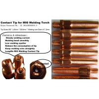 MIG Welding Torch Contact Tips Manufactures