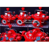 Industrial 750 GPM Split Case Fire Pump Single Stage With Double Impeller Manufactures