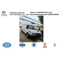 Hot sale IVECO  ice cream mobile food refrigerated van truck, IVECO 4*2 LHD diesel refrigerator minibus for sale Manufactures