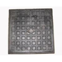 Quality ductile iron water square manhole cover and frame for sale