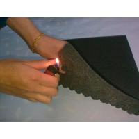 Flame Resistant Industrial Foam Sheets with Wave Surface 18 D - 65 D Density Manufactures