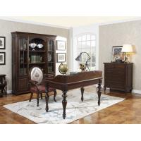 Home Office Study room furniture Wooden Reading Writing desk Computer table with Storage cabinet and Bookshelf cabinet Manufactures