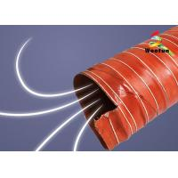 HVAC Insulated high pressure high temperature silicone air duct Manufactures