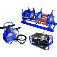 China Φ 160mm To Φ 315mm HDPE Pipe Butt Fusion Welding Machine Manually 220V Low Noise on sale