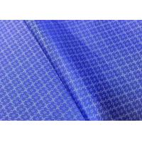 China Custom Polyester Cationic Linen Jacquard Fabric For Jacket Suit Lining on sale