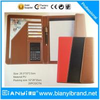 Credit card folder with writing pad Manufactures