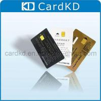 Black/White/Gold Smart IC Card (KD0158) Manufactures