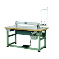 1000rpm Single Needle Sewing Machine , 35mm Thickness Long Arm Sewing Machine Manufactures
