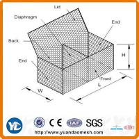 ISO9001  gabion box for sale Manufactures