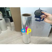 76mm Core BOPP Plain Film , Wet Lamination Film For Large Format Laminate Manufactures
