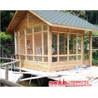 Supply Cheap Price  &Strong Small Wooden Prefab Villa,Hot Line 86-18927743221. Manufactures