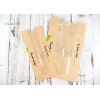 Flat Windowed Fast Food Wrapping Paper , Greaseproof Baking Paper Manufactures