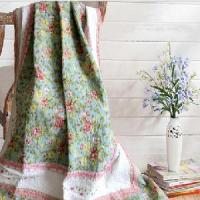China Embroidered and Printed Quilt on sale