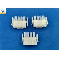 Electronic Single Row Housing Wire To Wire Connectors 6.35mm Pitch Male Housing Manufactures