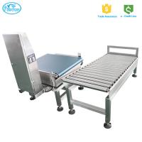 China High Performance Weight Checking Machine / Auto Conveyor Belt Checkweigher on sale