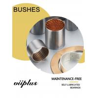 Bronze Bimetal Bushings | Carbon steel with tin-lead-bronze alloy CuSn10Pb10 sintered Manufactures