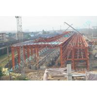 Long-Span PEB Industry Steel Building Inspected By SKM, BV Third Party Test Manufactures