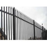 Triple Point Hot Galvanized Palisade Fencing Manufactures
