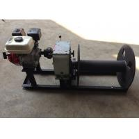 Cable Winch Puller 3 Ton Gas Engine Powered Cable Drum Winch for Hoisting Manufactures