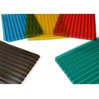 Impact Resistance Twinwall Polycarbonate Sheet PC Light Cover for Swimming Pool Manufactures
