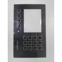 Custom PC PET Membrane Control Panel With Clean Window Full Key Emboss SGS Manufactures