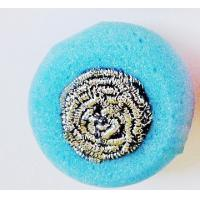 China Replaceable SS Kitchen Sponge Scrubber With Strong Decontamination Power on sale