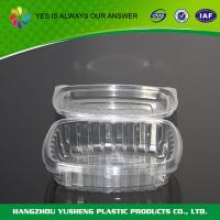 PS  Disposable Food Clamshell Packaging  8 oz For Fruit / Cookies