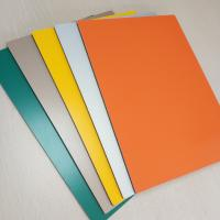 Aluminum PVC Composite Wall Panels Prefabricated Building Fire Proof 5mm Manufactures