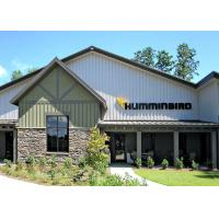 Pre Engineered Metal Frame Commercial Steel Frame Buildings With Architectural Appearance Manufactures