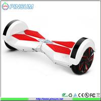 New model self balance two wheels electric scooter with led light and bluetooth speaker Manufactures