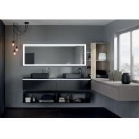 Touch Screen Mirror Tv / Bathroom Mirror Television Wall Mounted Install Type Manufactures