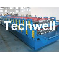 0 - 15m/min Forming Speed Double Layer Forming Machine For Roof Wall Panels Manufactures