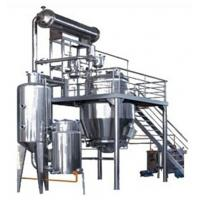 100kg/Hour Pharmaceutical Machinery Concentration Machine For Chemical Industry Manufactures