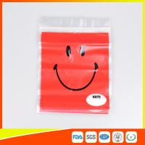 OEM Custom Printed Ziplock Bags Plastic Grip Seal Poly Bag With Heat Seal Manufactures