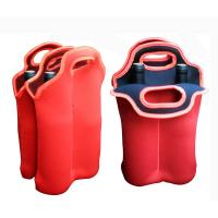 China Stylish Foldable cool totes insulated Neoprene Bottle Cooler Bag for picnics party on sale