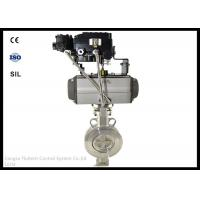 Stainless Steel Wafer Butterfly Valve Actuator With Positioner , Long Working Life Manufactures