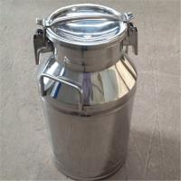 Sealing Lids Stainless Steel Milk Bucket Liquid Storage Transportation Manufactures
