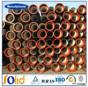 ISO2531/ EN545 ductile iron pipe k9/c25/c30/c40 Manufactures