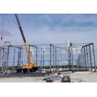 Large Span Prefabricated Steel Structures / Prefabricated Self Storage Buildings Manufactures