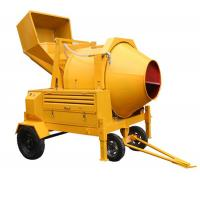 China 350L Diesel Engine Hydraulic Concrete Mixer with 14/Min Drum Rotation Speed on sale