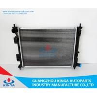 Aluminum Hyundai Radiator VERNA MT OEM 25310-0U000 Core Thickness 16mm With Heater Tank Manufactures