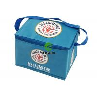 China 330ml Beer Can 6 Pack Insulated Cooler Bags Ice Cooling Small Soft Nylon Material on sale